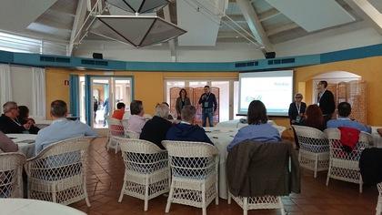 Presentación del evento a cargo de Juan Such de Rankia y Vinyet Almirall de Bodegas Torres