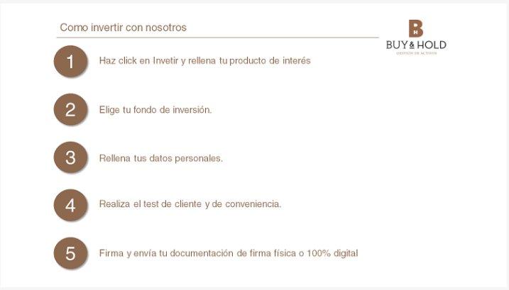 Contratación Web Buy&Hold 1