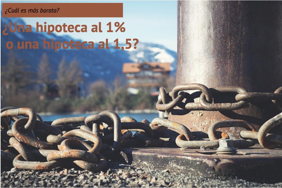 Hipoteca al 1% o al 1,5%?