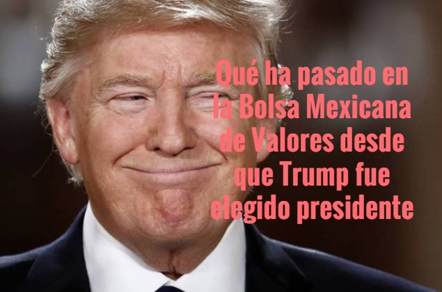 Donald Trump, IPC, Bolsa Mexicana de Valores, Rankia, Edgar Arenas