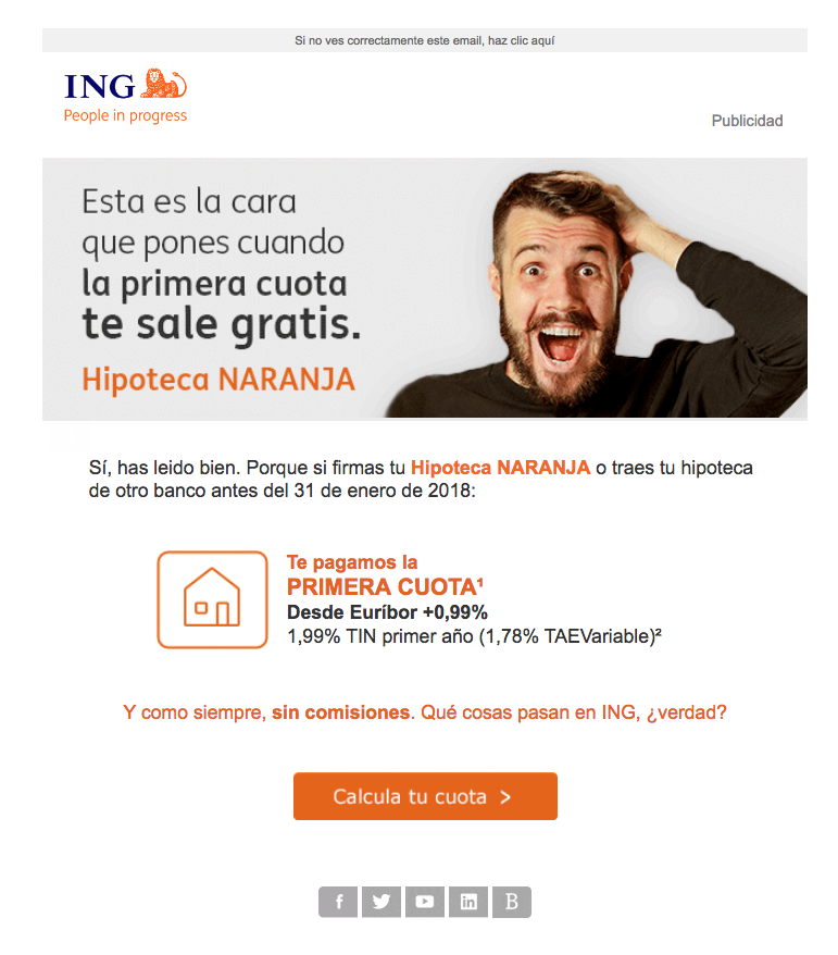 Hipoteca Naranja de ING