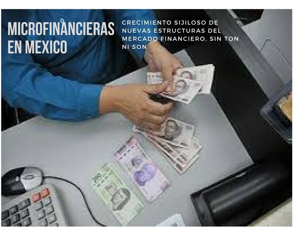 MICROFINANCIERAS MEXICO.