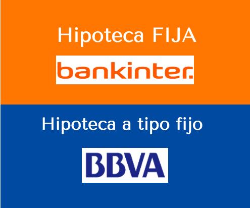 comparativa hipotecas fijas