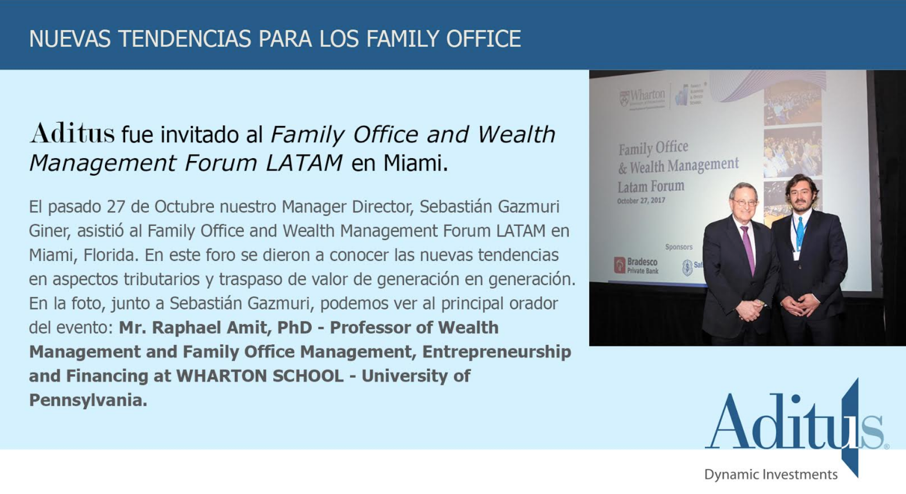 Aditus: Family office