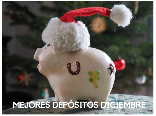 mejores depósitos diciembre