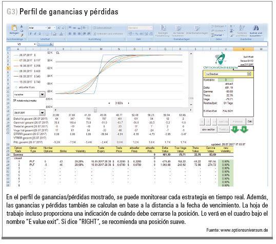 perfil de ganancias y pérdidas