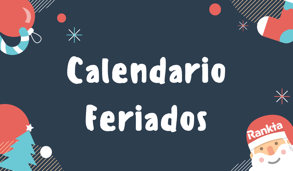 Calendario feriados Chile
