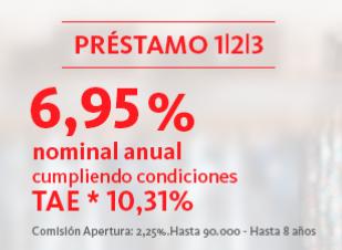 Préstamo 123 Banco Santander