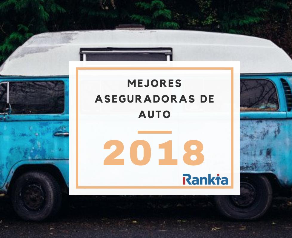 Mejores aseguradoras de auto 2018