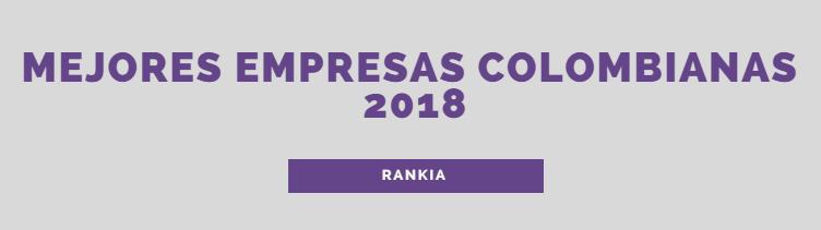 Mejores Empresas Colombianas para 2018