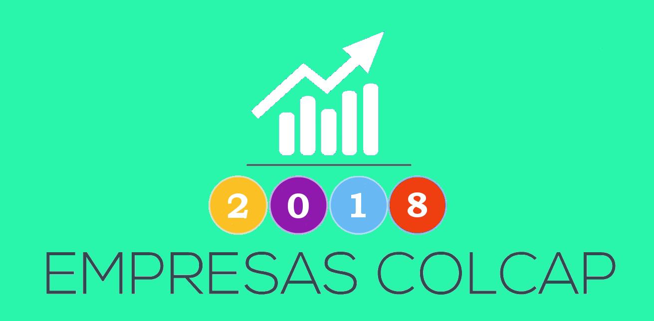 ¿Qué empresas cotizan en el COLCAP 2018?