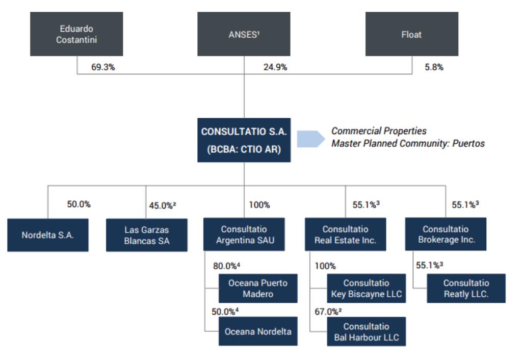 Estructura accionarial Consultatio