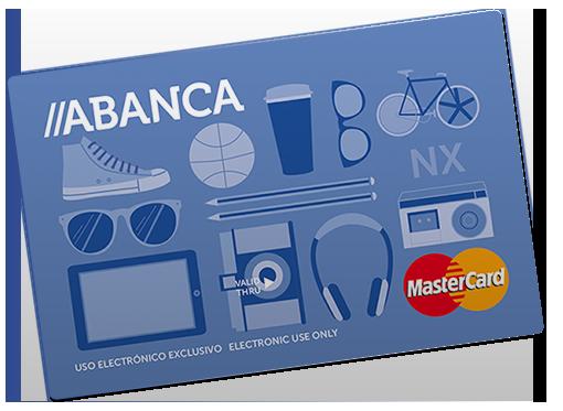 Tarjeta NX Abanca