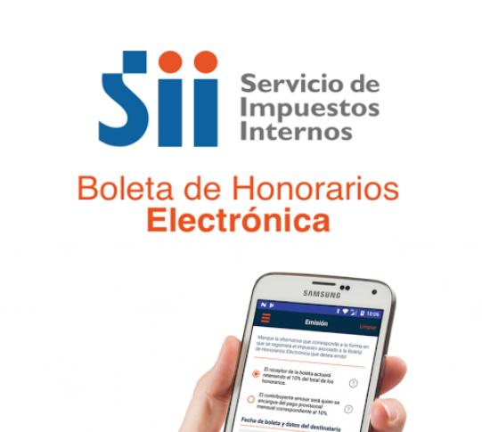 ¿Cómo funciona la nueva App e-Boleta? Boleta de Honorarios Electrónica