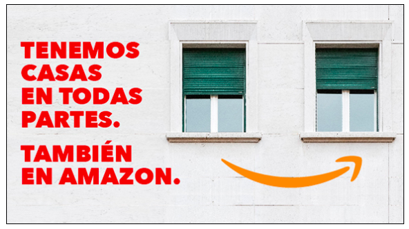 Comprar pisos por Amazon