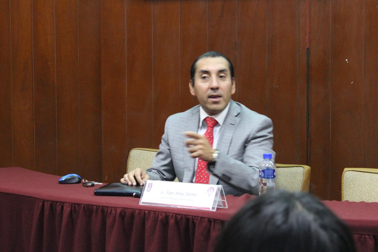 Edgar Arenas, Conferencia ¿Cómo funciona un fondo de inversión?