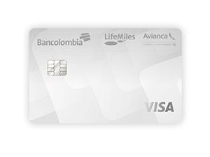 Tarjeta de Crédito Avianca LifeMiles Visa: Bancolombia