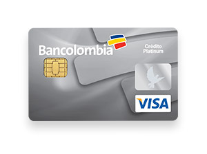 Tarjeta de Crédito Visa Platinum: Bancolombia
