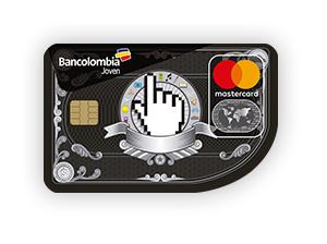 Tarjeta de Crédito MasterCard Joven: Bancolombia