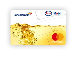 Tarjeta de Crédito MasterCard Esso Mobil Clásica: Bancolombia