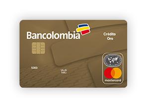Tarjeta de Crédito MasterCard Oro: Bancolombia