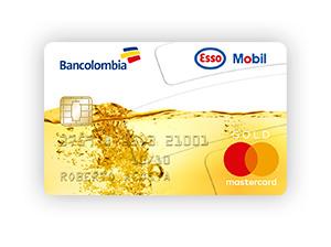 Tarjeta de Crédito MasterCard Esso Mobil Oro: Bancolombia