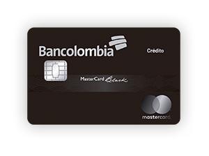 Tarjeta de Crédito MasterCard Black: Bancolombia