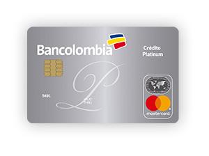 Tarjeta de Crédito MasterCard Platinum: Bancolombia
