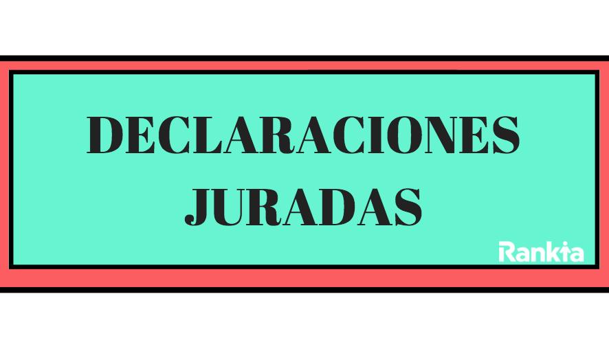 Declaraciones juradas: ¿Cuando y cómo declarar los agentes retenedores o informantes?