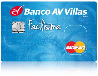 Tarjeta de Crédito Facilísima: Banco AV Villas