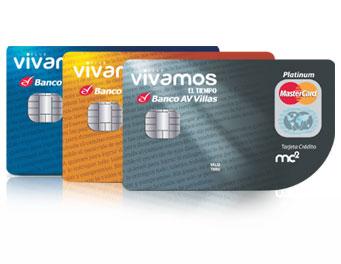 Tarjeta de Crédito Club Vivamos El Tiempo: Banco AV Villas