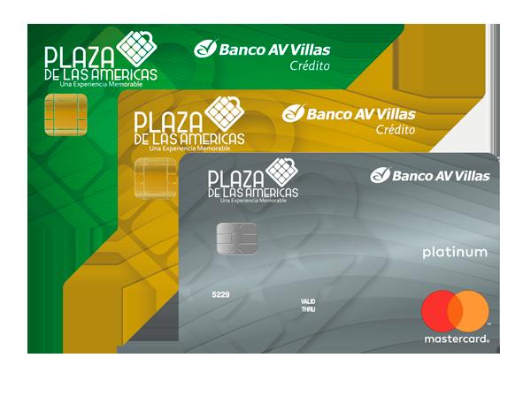 Tarjeta de Crédito Plaza de las Américas: Banco AV Villas