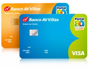 Tarjeta de Crédito Portal 80: Banco AV Villas