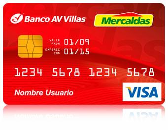 Tarjeta de Crédito Mercaldas: Banco AV Villas
