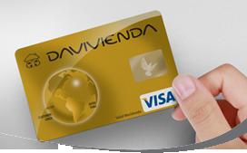 Tarjeta de Crédito VisaGold: Banco Davivienda