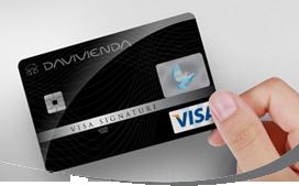 Tarjeta de Crédito VisaSignature: Banco Davivienda