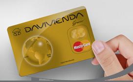 Tarjeta de Crédito MasterCard Gold: Banco Davivienda