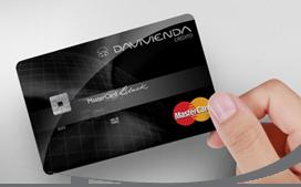 Tarjeta de Crédito MasterCard Black: Banco Davivienda