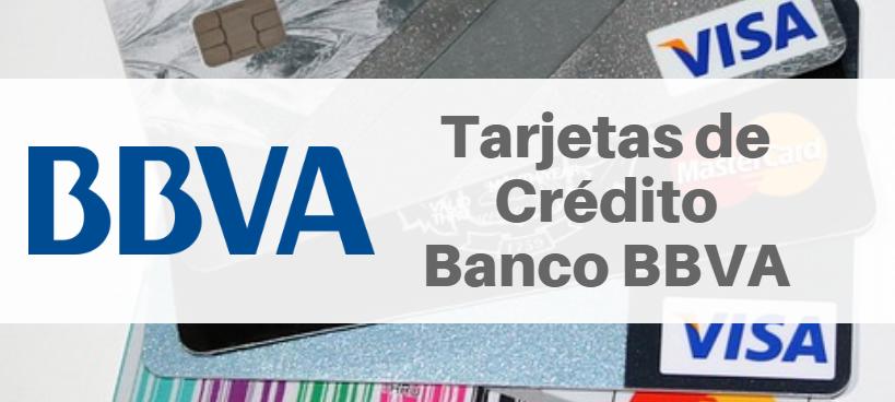 Tarjetas de Crédito Banco BBVA