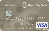 Tarjetas de Crédito Platinum: Banco Caja Social