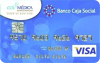 Tarjeta de Crédito Clásica Colmédica: Banco Caja Social