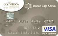 Tarjeta de Crédito Platinum Colmédica: Banco Caja Social