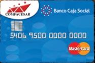 Tarjeta de Crédito Comfacesar: Banco Caja Social