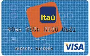 Tarjeta de Crédito Visa Clásica: Banco Itaú