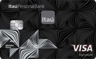 Tarjeta de Crédito Visa Siganture: Banco Itaú