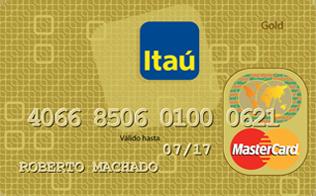 Tarjeta de Crédito MasterCard Oro: Banco Itaú