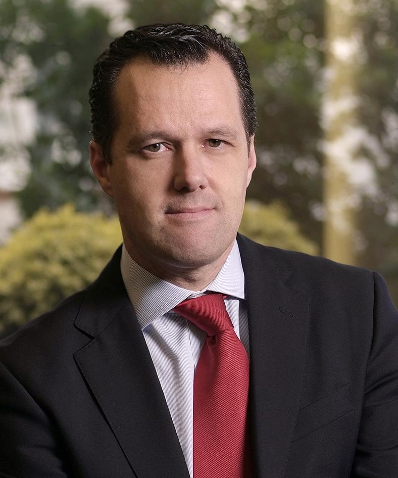 Matías Sánchez, gerente de la División Banca Comercial de Banco Santander