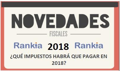 impuestos pagar 2018