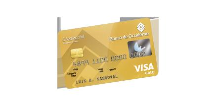 Tarjeta de Crédito Visa Gold