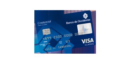Tarjeta de Crédito Visa Clásica